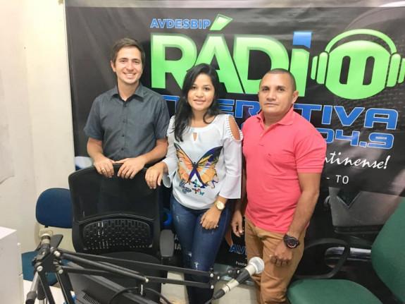 Palestra na Rádio Interativa FM - Programa Saúde em Foco