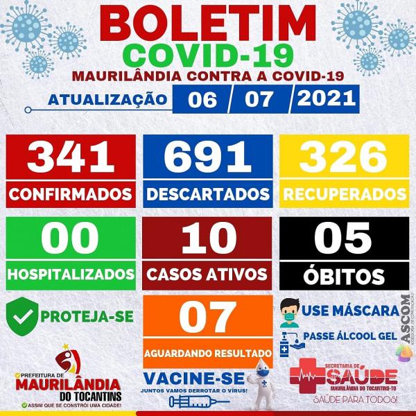 Boletim de Mauriâlandia do Tocantins
